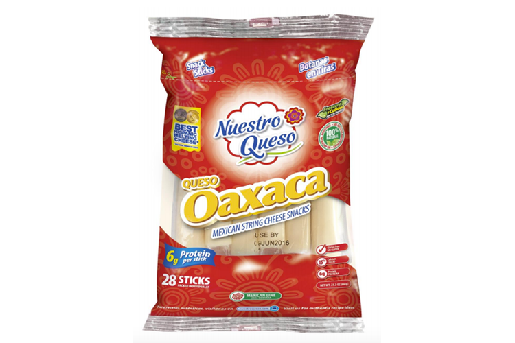 Hispanic Cheese Snack Innovation from Nuestro Queso